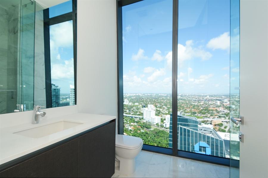 Real Estate Photography - 1451 Brickell Ave., LPH5201, Miami, FL, 33131 - Bathroom