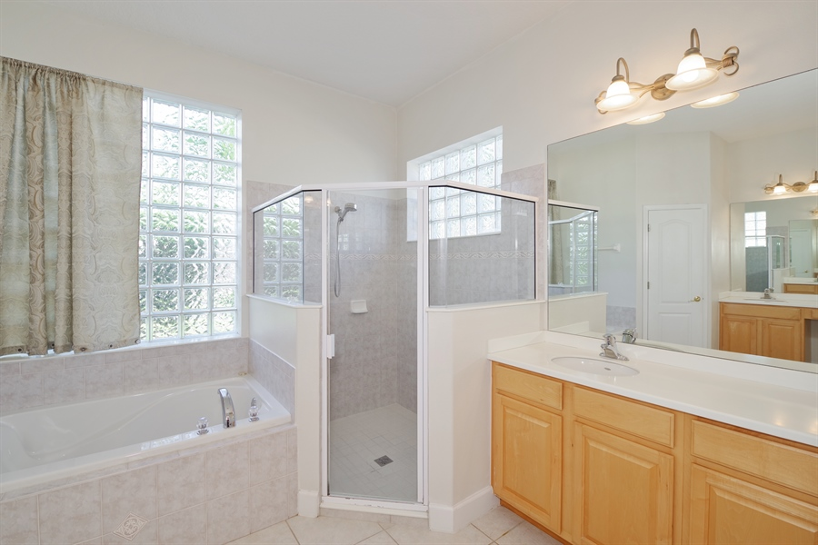 Real Estate Photography - 3620 Chardonnay Dr, Rockledge, FL, 32955 - Master Bathroom
