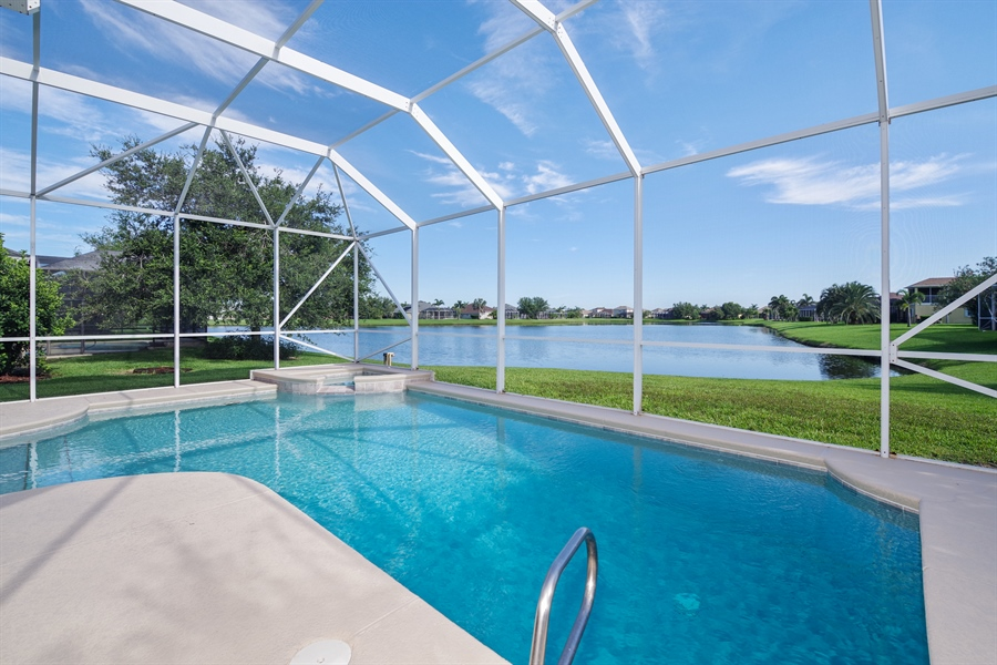 Real Estate Photography - 3620 Chardonnay Dr, Rockledge, FL, 32955 - Pool