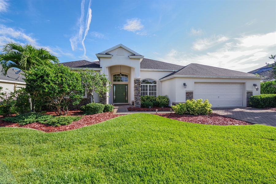 Real Estate Photography - 3620 Chardonnay Dr, Rockledge, FL, 32955 - Front View