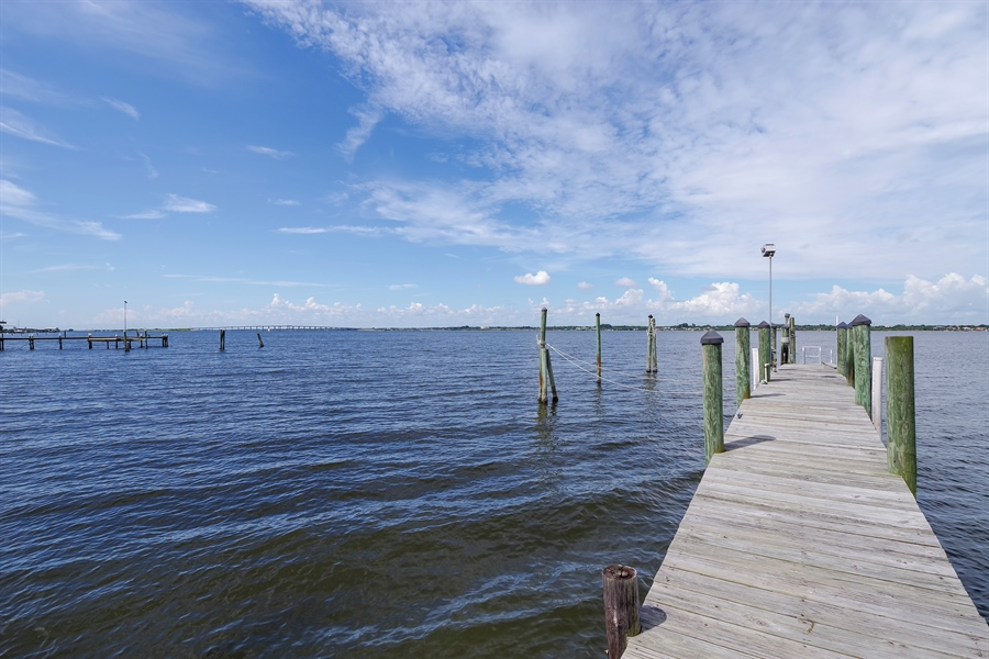 Real Estate Photography - 7235 S. Tropical Trail, Merritt Island, FL, 32952 - Dock