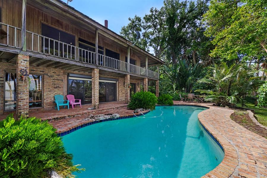 Real Estate Photography - 7235 S. Tropical Trail, Merritt Island, FL, 32952 - Pool