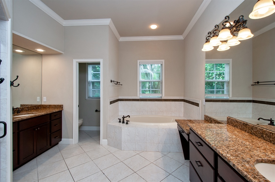 Real Estate Photography - 16776 NW 2nd Road, Newberry, FL, 32669 - Master Bathroom