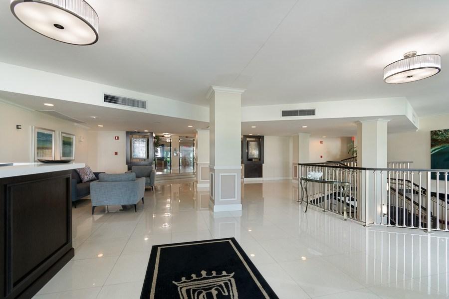 Real Estate Photography - Tiara East Condo, 333 NE 21st Ave #1822, Deerfield Beach, FL, 33441 - Lobby