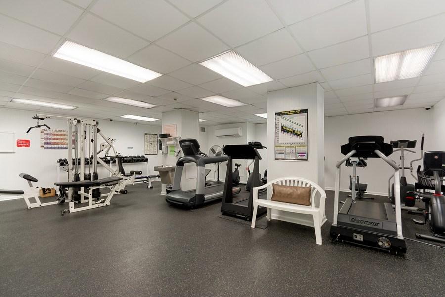 Real Estate Photography - Tiara East Condo, 333 NE 21st Ave #1822, Deerfield Beach, FL, 33441 - Gym