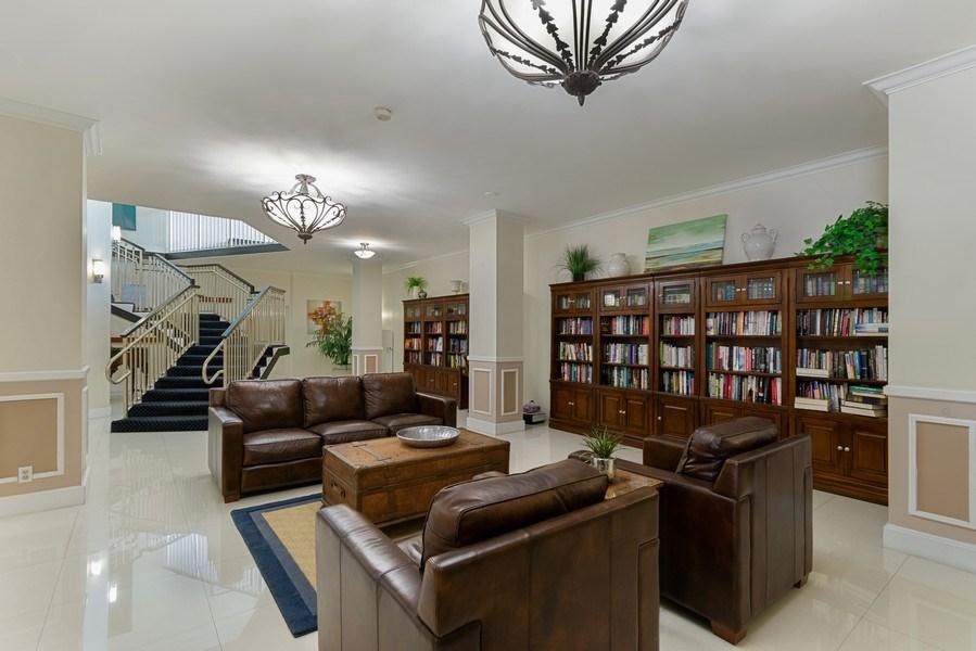 Real Estate Photography - Tiara East Condo, 333 NE 21st Ave #1822, Deerfield Beach, FL, 33441 - Library