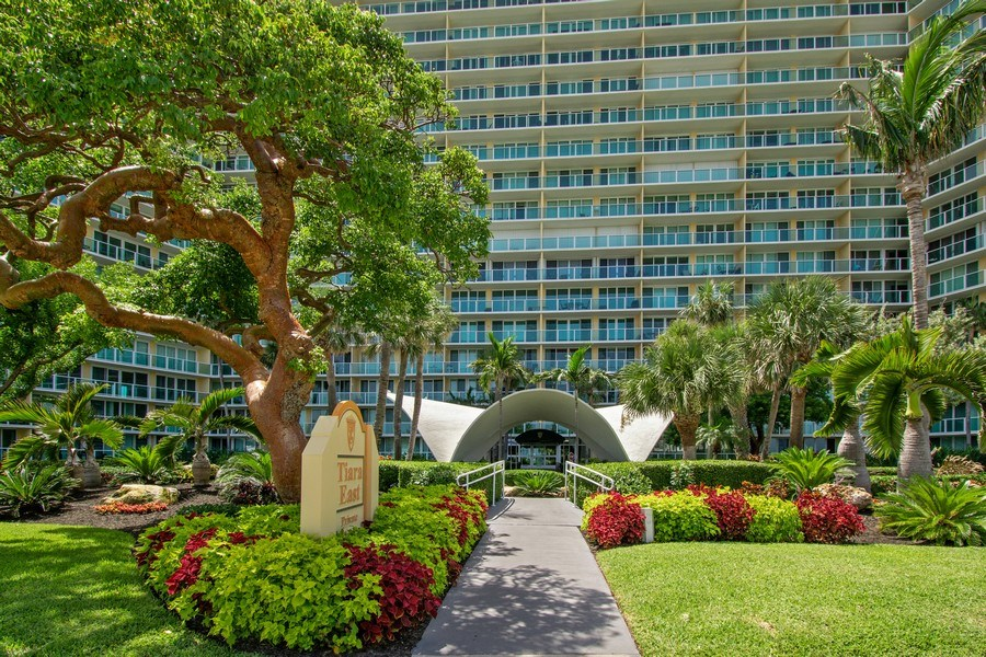 Real Estate Photography - Tiara East Condo, 333 NE 21st Ave #1822, Deerfield Beach, FL, 33441 - Front View