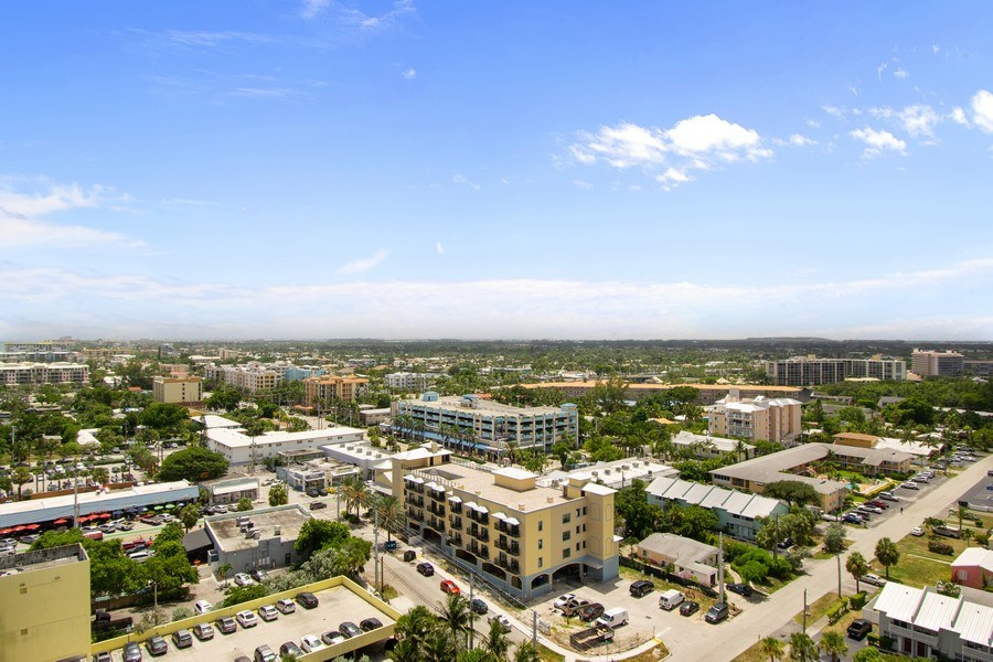 Real Estate Photography - Tiara East Condos, 333 NE 21st Ave #1802, Deerfield Beach, FL, 33441 - View