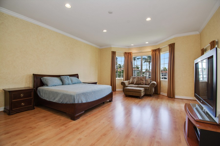 Real Estate Photography - 3235 NE 207th Terrace, Aventura, FL, 33180 - Master Bedroom