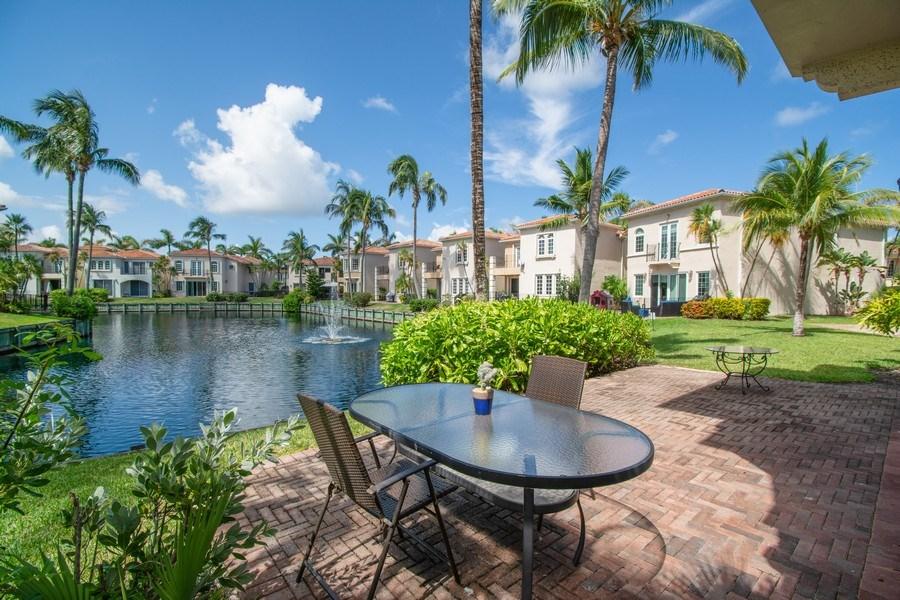 Real Estate Photography - 3235 NE 207th Terrace, Aventura, FL, 33180 - Patio