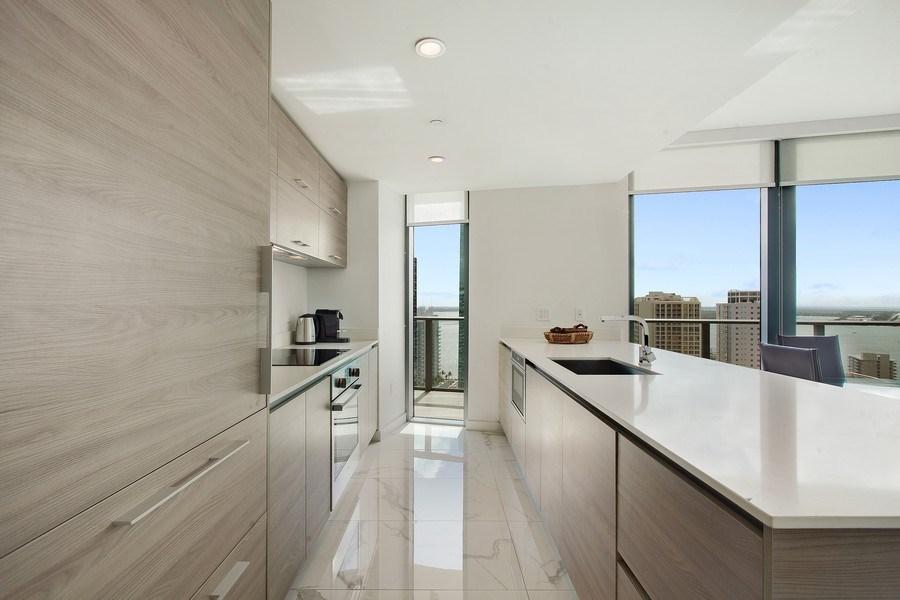 Real Estate Photography - 1300 S. Miami Ave., #2505, Miami, FL, 33130 - Kitchen