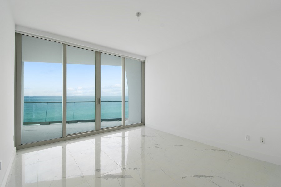 Real Estate Photography - 16901 Collins Ave., #702, Sunny Isles Beach, FL, 33160 - Master Bedroom