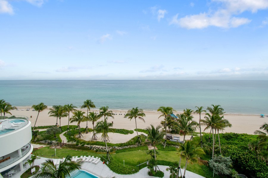 Real Estate Photography - 16901 Collins Ave., #702, Sunny Isles Beach, FL, 33160 - View