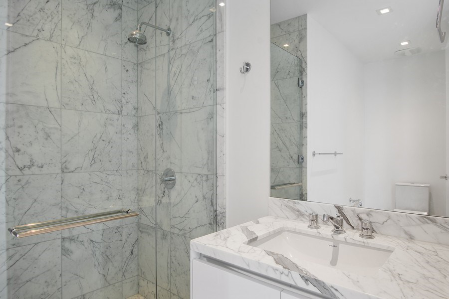 Real Estate Photography - 16901 Collins Ave., #702, Sunny Isles Beach, FL, 33160 - Bathroom