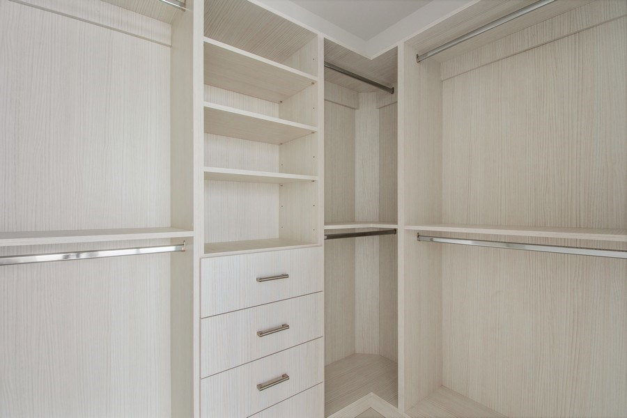 Real Estate Photography - 16901 Collins Ave., #702, Sunny Isles Beach, FL, 33160 - Closet