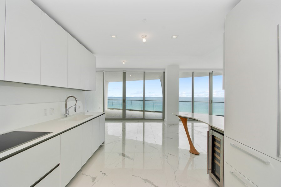 Real Estate Photography - 16901 Collins Ave., #702, Sunny Isles Beach, FL, 33160 - Kitchen