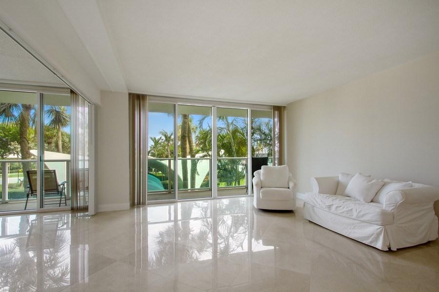Real Estate Photography - Tiara East Condos333 NE 21st Ave., #310, Deerfield Beach, FL, 33441 - Living Room