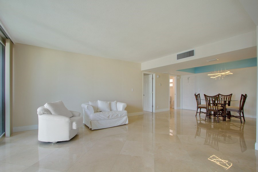 Real Estate Photography - Tiara East Condos333 NE 21st Ave., #310, Deerfield Beach, FL, 33441 - Living Room