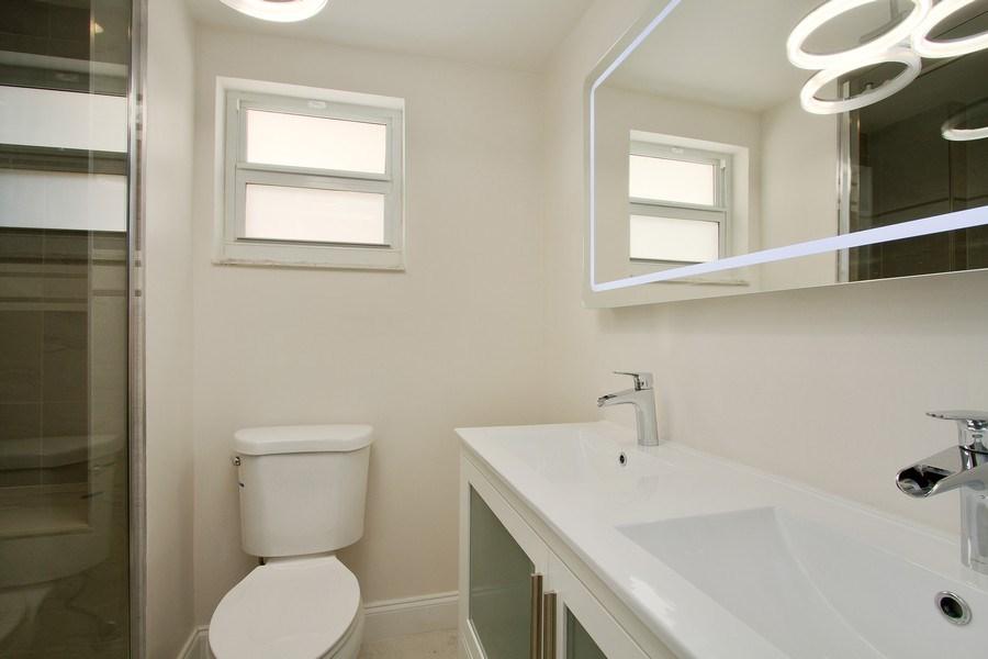 Real Estate Photography - Tiara East Condos333 NE 21st Ave., #310, Deerfield Beach, FL, 33441 - Master Bathroom