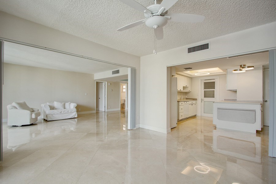 Real Estate Photography - Tiara East Condos333 NE 21st Ave., #310, Deerfield Beach, FL, 33441 - Family Room