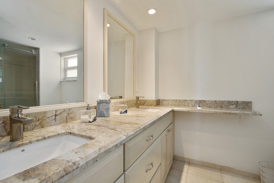 Real Estate Photography - Tiara East Condos333 NE 21st Ave., #310, Deerfield Beach, FL, 33441 - 2nd Bathroom