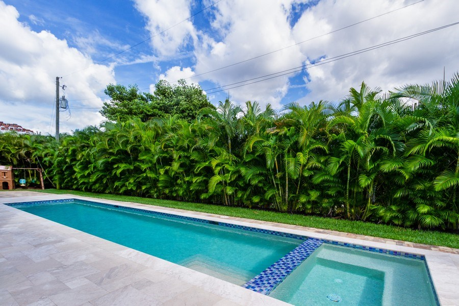 Real Estate Photography - 718 Springline Dr., Naples, FL, 34102 - Pool