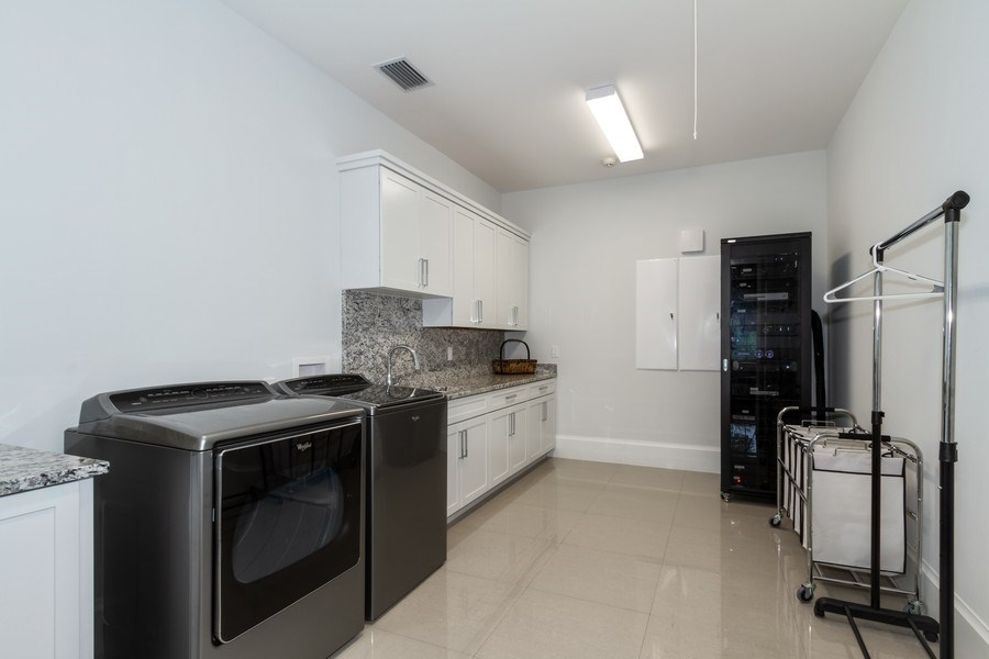 Real Estate Photography - 718 Springline Dr., Naples, FL, 34102 - Laundry Room
