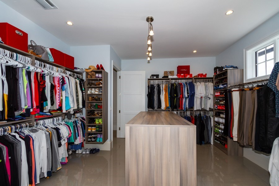 Real Estate Photography - 718 Springline Dr., Naples, FL, 34102 - Closet