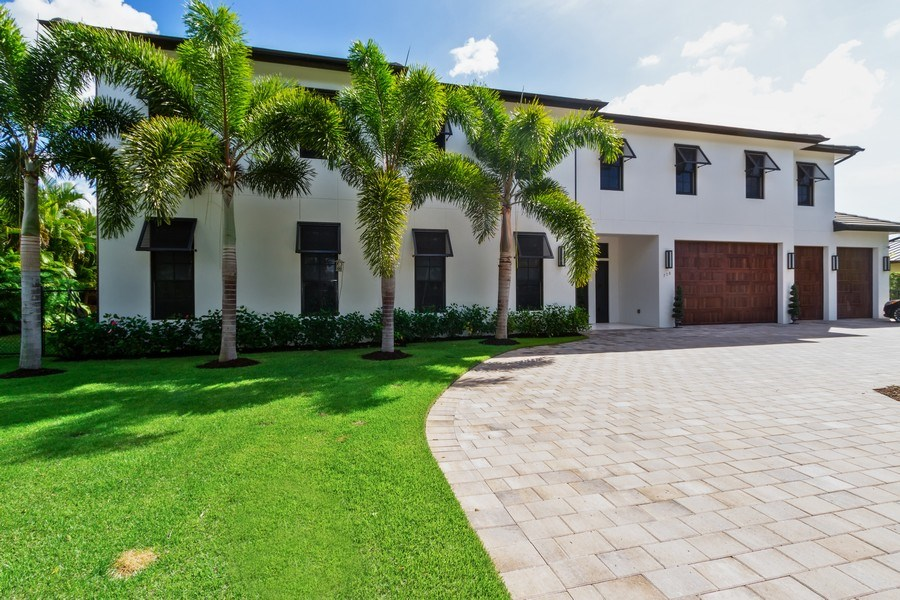 Real Estate Photography - 718 Springline Dr., Naples, FL, 34102 - Front View