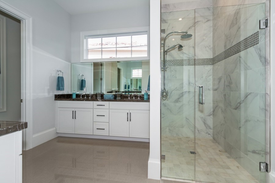 Real Estate Photography - 718 Springline Dr., Naples, FL, 34102 - Bathroom
