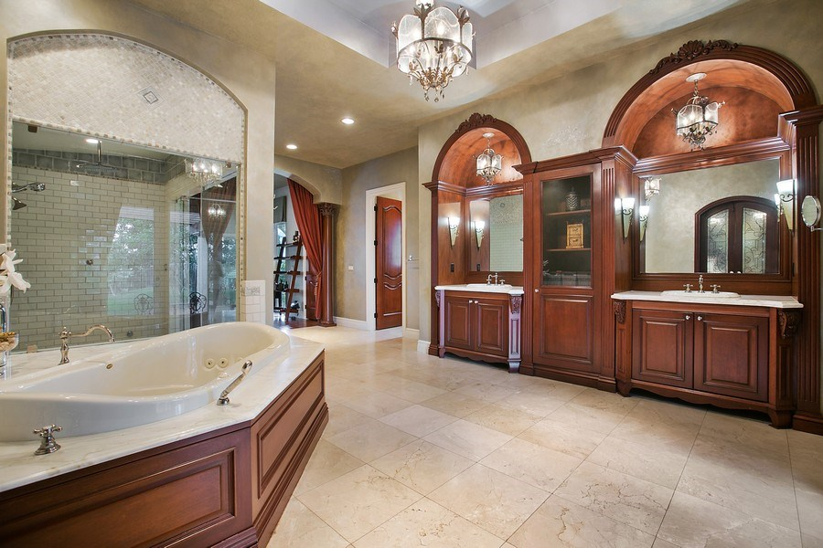 Real Estate Photography - 3460 Windmill Ranch Rd., Weston, FL, 33331 - Master Bathroom