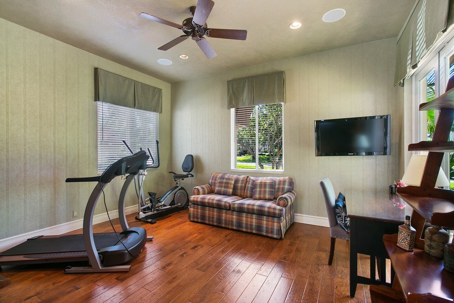 Real Estate Photography - 3460 Windmill Ranch Rd., Weston, FL, 33331 - Gym