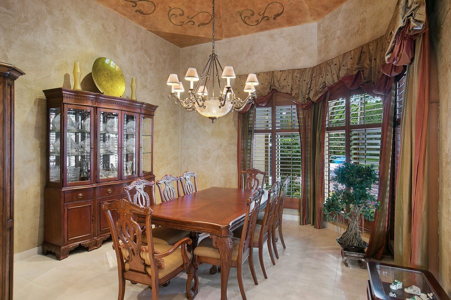 Real Estate Photography - 3460 Windmill Ranch Rd., Weston, FL, 33331 - Dining Room