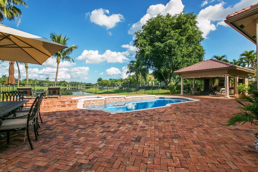 Real Estate Photography - 3460 Windmill Ranch Rd., Weston, FL, 33331 - Pool