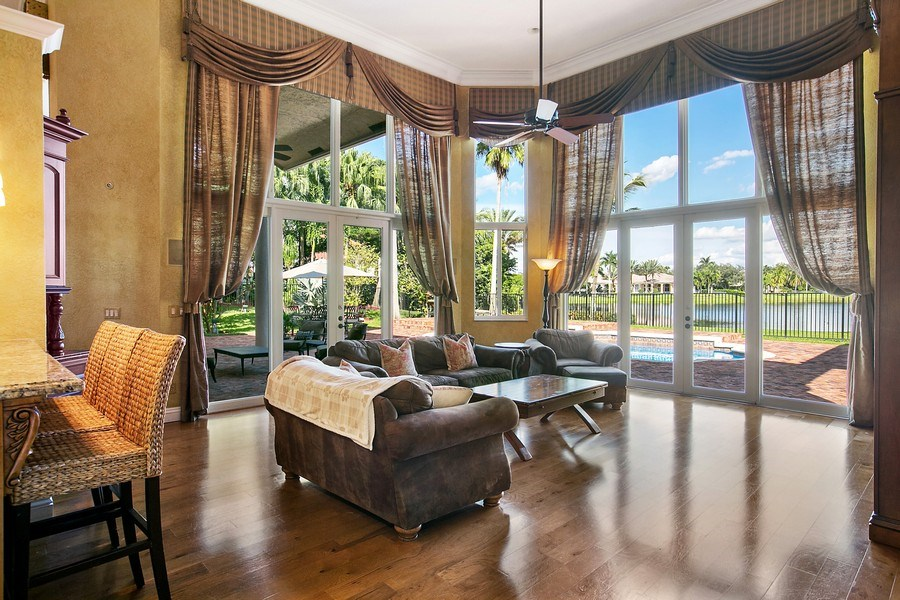 Real Estate Photography - 3460 Windmill Ranch Rd., Weston, FL, 33331 - Family Room