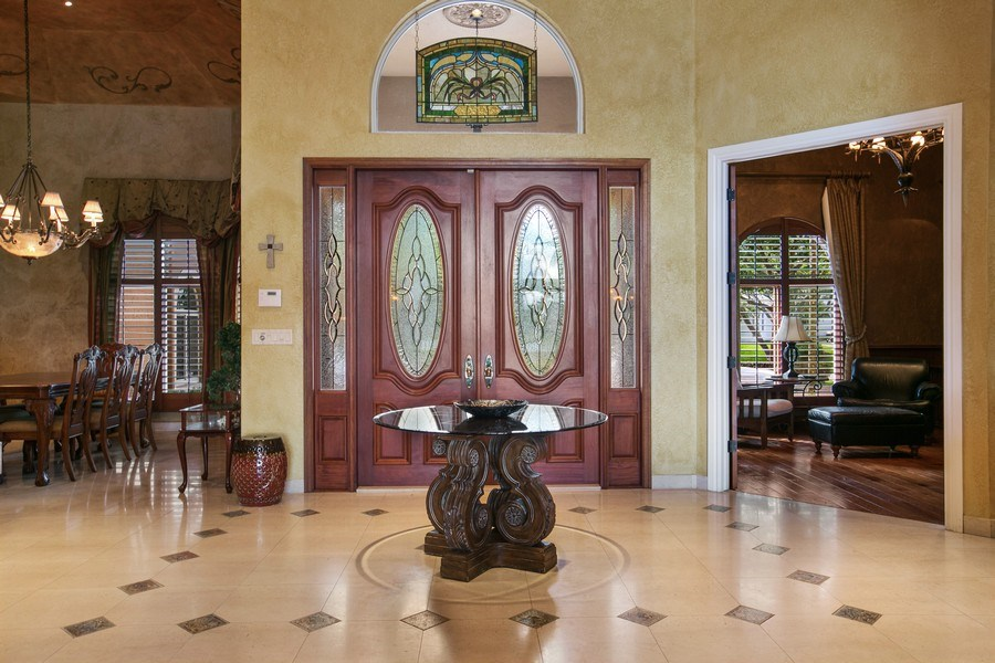 Real Estate Photography - 3460 Windmill Ranch Rd., Weston, FL, 33331 - Foyer