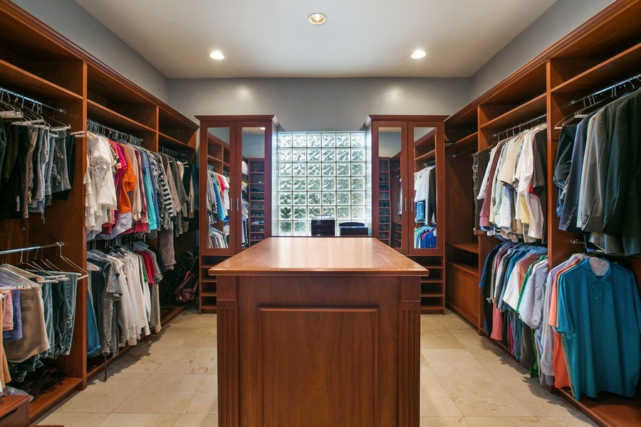 Real Estate Photography - 3460 Windmill Ranch Rd., Weston, FL, 33331 - Master Bedroom Closet