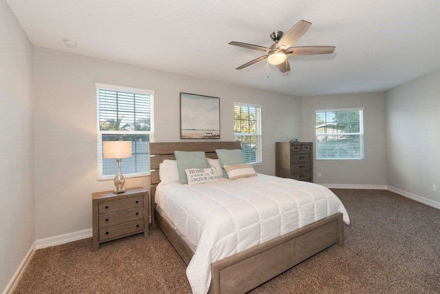 Real Estate Photography - 152 Mediterranean Way, Indian Harbour Beach, FL, 32937 - Master Bedroom