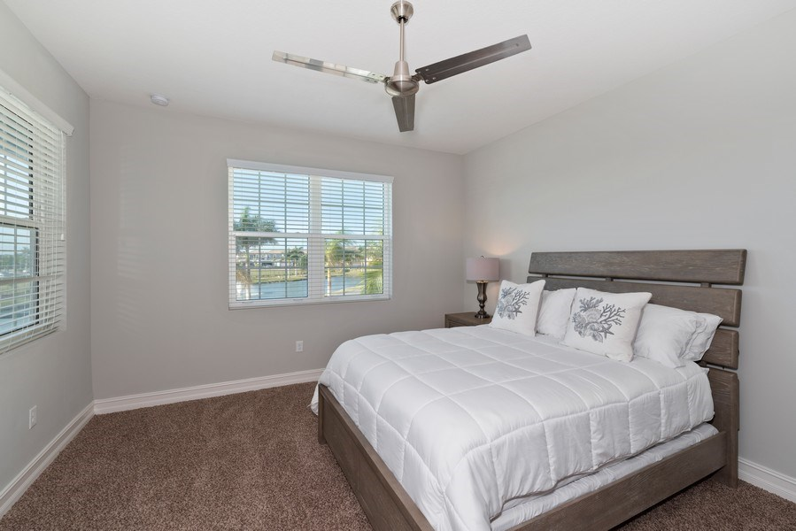 Real Estate Photography - 152 Mediterranean Way, Indian Harbour Beach, FL, 32937 - 2nd Bedroom