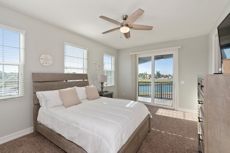 Real Estate Photography - 152 Mediterranean Way, Indian Harbour Beach, FL, 32937 - 3rd Bedroom