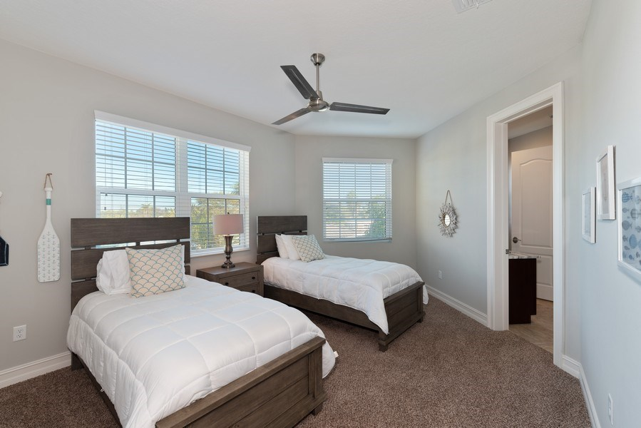 Real Estate Photography - 152 Mediterranean Way, Indian Harbour Beach, FL, 32937 - 4th Bedroom