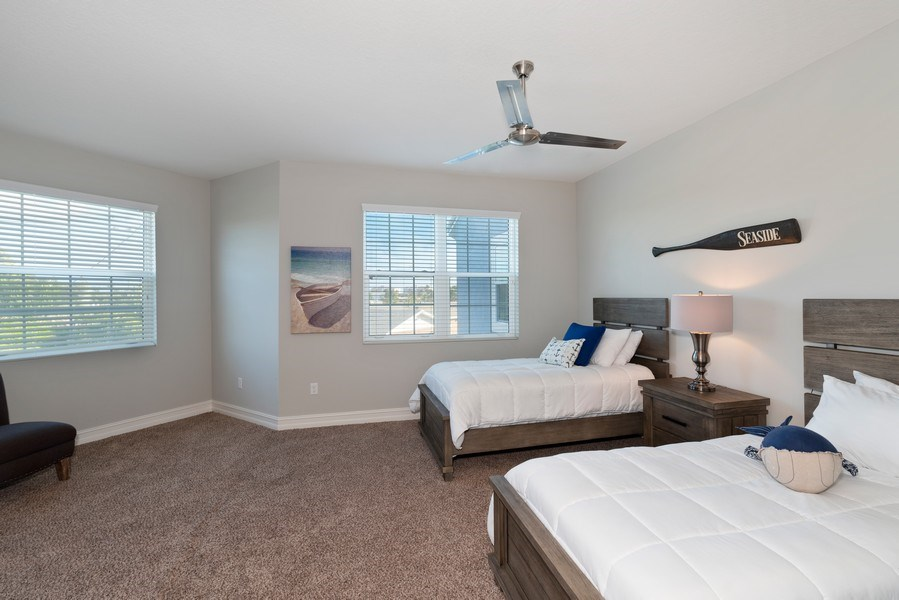 Real Estate Photography - 152 Mediterranean Way, Indian Harbour Beach, FL, 32937 - 5th Bedroom