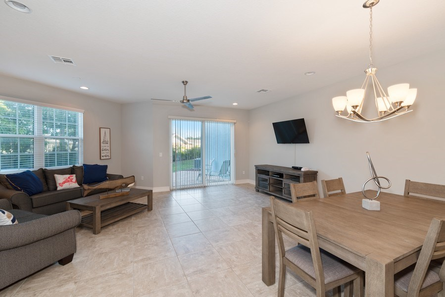 Real Estate Photography - 152 Mediterranean Way, Indian Harbour Beach, FL, 32937 - Family Room