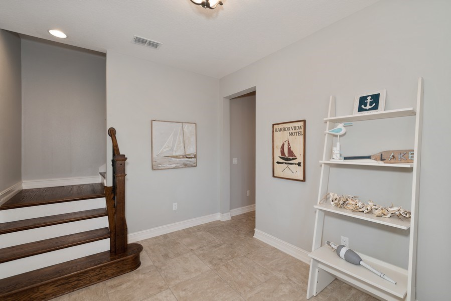 Real Estate Photography - 152 Mediterranean Way, Indian Harbour Beach, FL, 32937 - Foyer