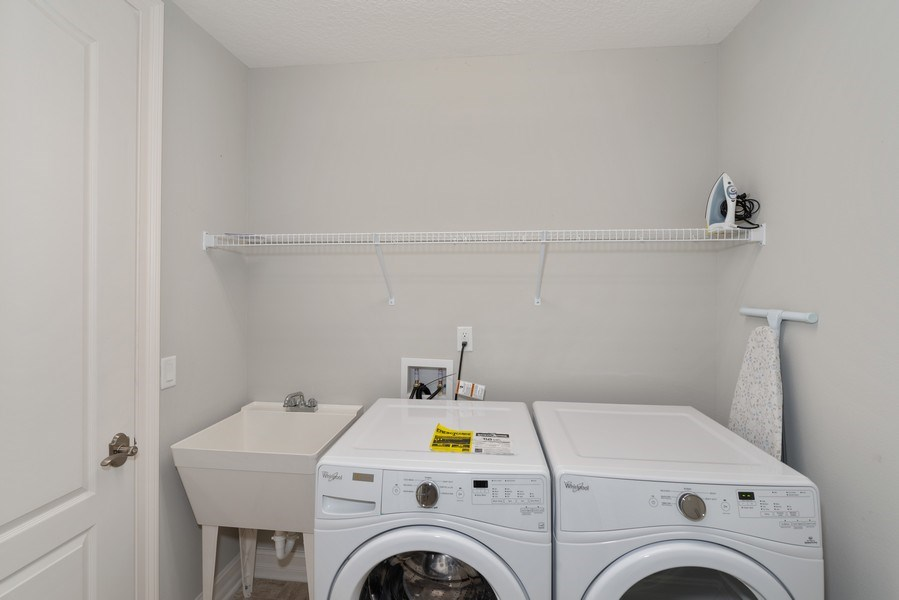 Real Estate Photography - 152 Mediterranean Way, Indian Harbour Beach, FL, 32937 - Laundry Room