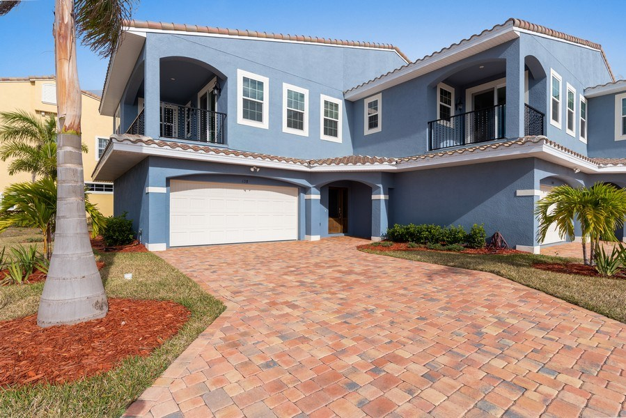 Real Estate Photography - 152 Mediterranean Way, Indian Harbour Beach, FL, 32937 - Front View