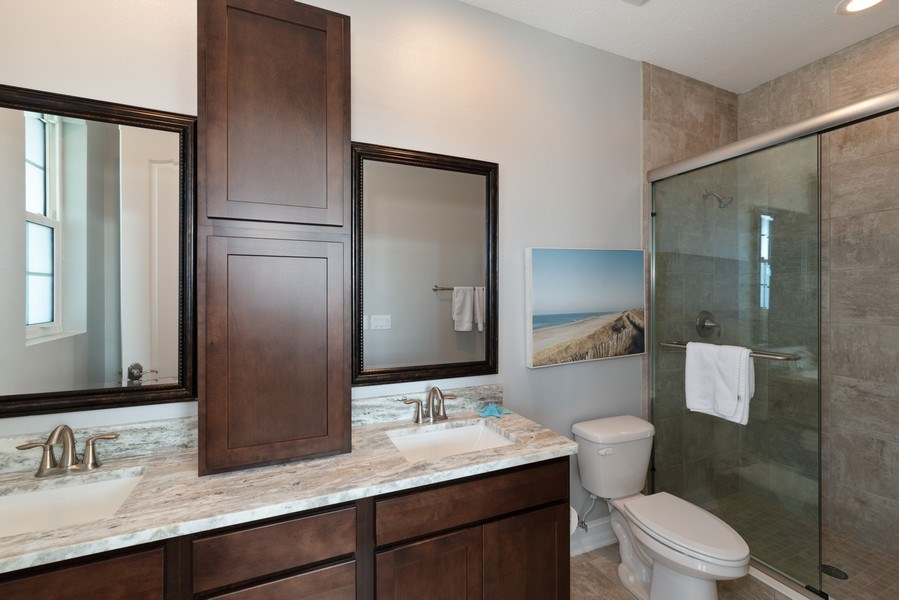 Real Estate Photography - 152 Mediterranean Way, Indian Harbour Beach, FL, 32937 - Bathroom
