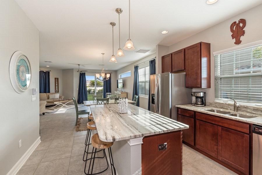 Real Estate Photography - 156 Mediterranean Way, Indian Harbour Beach, FL, 32937 - Kitchen