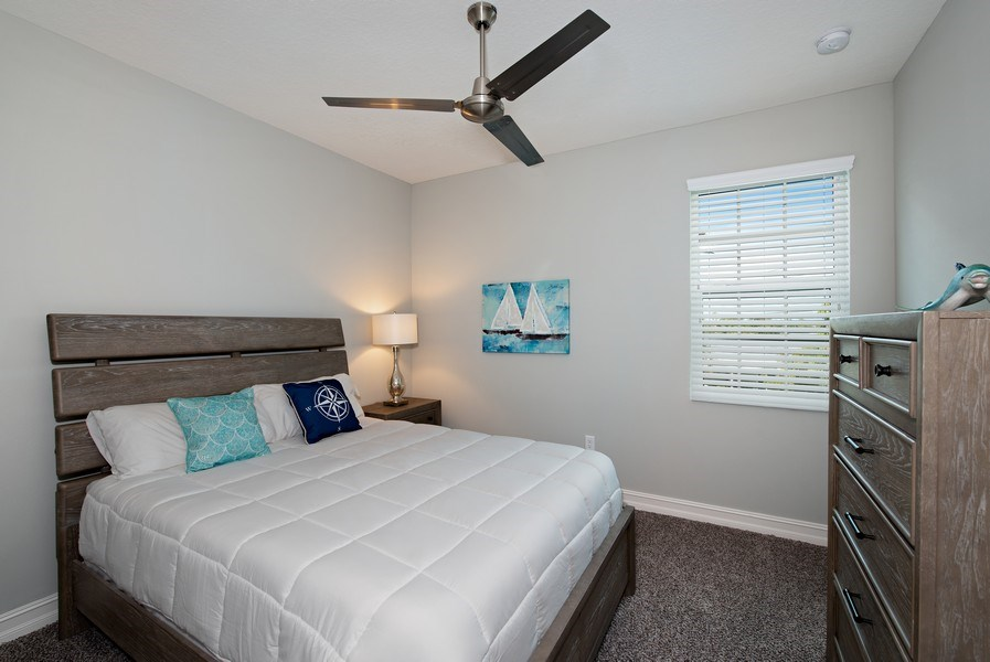 Real Estate Photography - 154 Mediterranean Way, Indian Harbour Beach, FL, 32937 - 2nd Bedroom