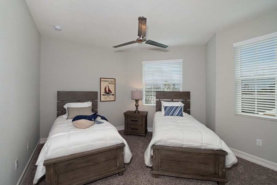 Real Estate Photography - 154 Mediterranean Way, Indian Harbour Beach, FL, 32937 - 3rd Bedroom